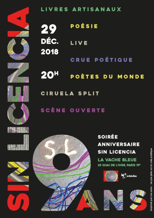 affiche pour Sin Licencia editorial
